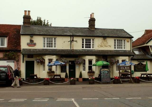 'The Old Crown', inn at Messing, Essex