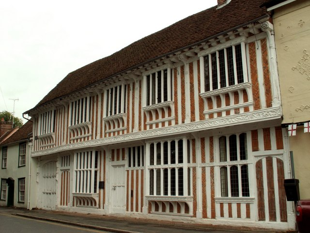 Paycocke's House, Coggeshall, Essex by Robert Edwards