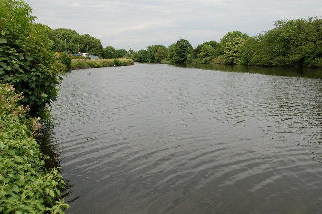 Newry ship canal near Dromalane