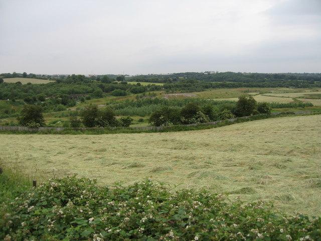 The Erewash Valley at Pye Bridge.