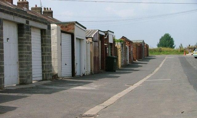 Backs of Terrace, Crow Lane, Lackenby