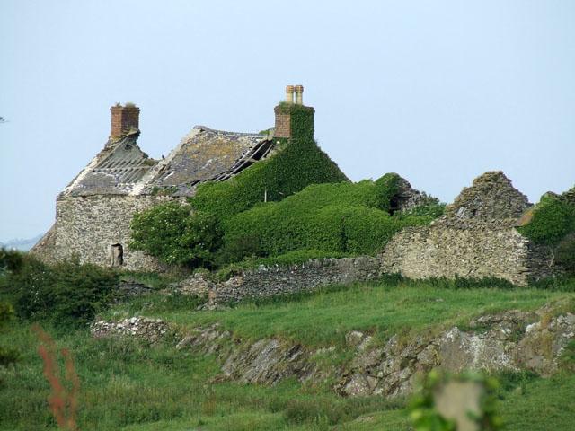 Ruin at Pen Y Bryn
