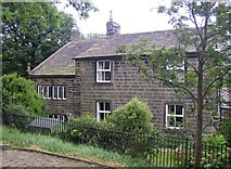 SD9828 : Chantry House, Heptonstall by Humphrey Bolton