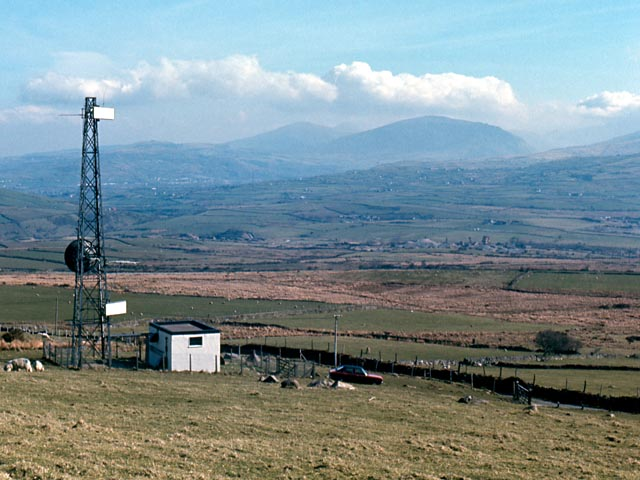 Bwlch Mawr transmission mast