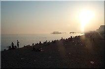 TQ3103 : Brighton Beach, August 2003 by Graham Pritchard