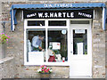 SE0186 : W S Hartle butchers by Stephen Craven