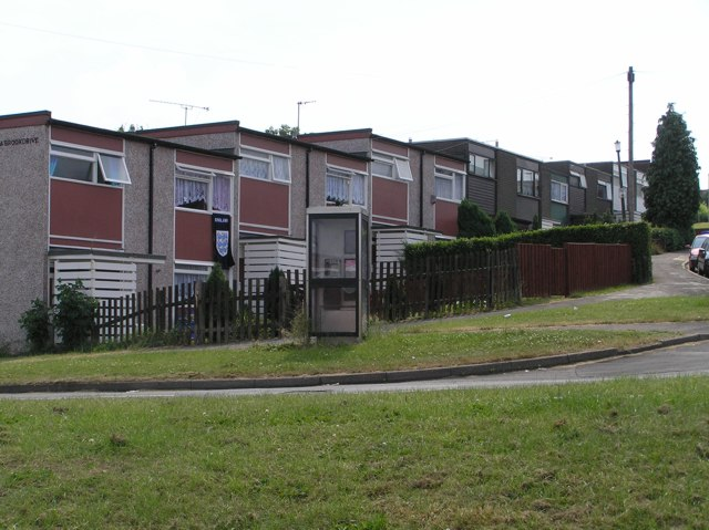 Houses on Scowerdens estate