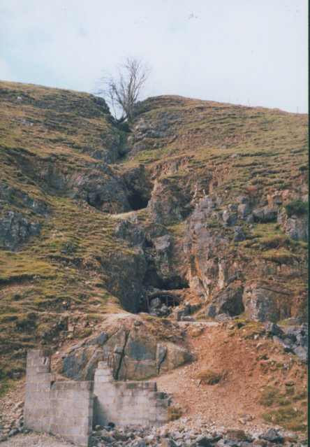 Old mine near Trollers Gill
