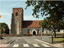 TM2130 : St. Michael's church, Ramsey, Essex by Robert Edwards