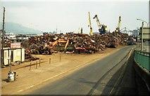 J3474 : Queen's Quay, Belfast (1990) by Albert Bridge