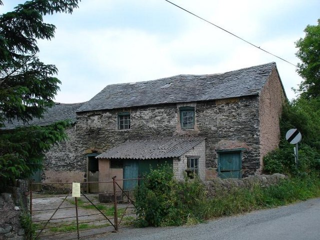 Derelict at Gwytherin