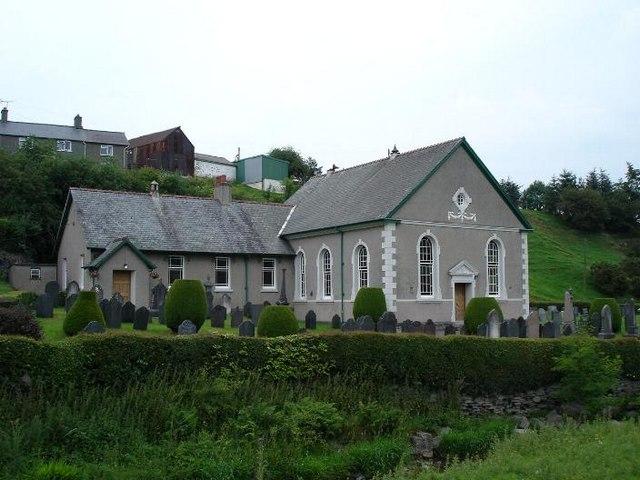 Pandy Tudur church