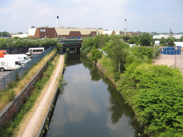 Grand Union Canal, Saltley