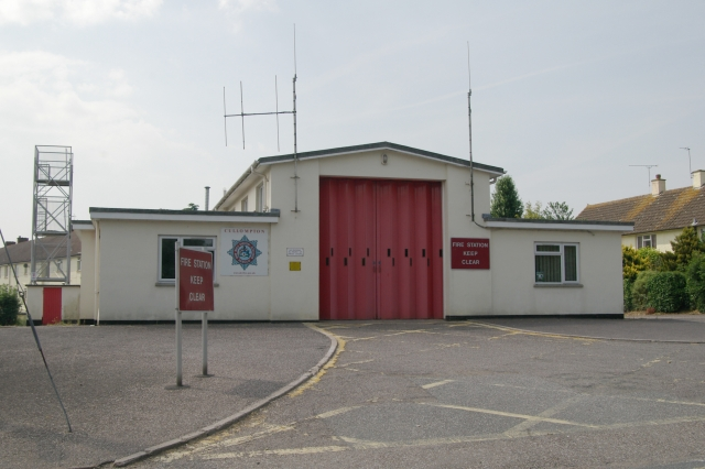 Cullompton fire station