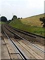 NY5048 : Railway near Armathwaite by Andrew Smith