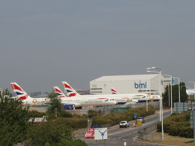 Airliners on the ground, Heathrow