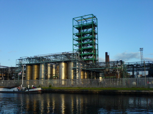 Hickson & Welch Chemical Works (now closed)