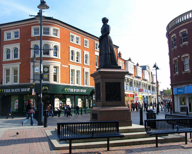 Sister Dora Statue, The Bridge, Walsall