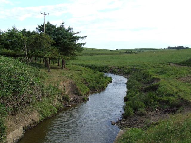 Stream at Pont y Crawiau