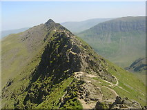 NY3415 : Striding Edge by James Hearton