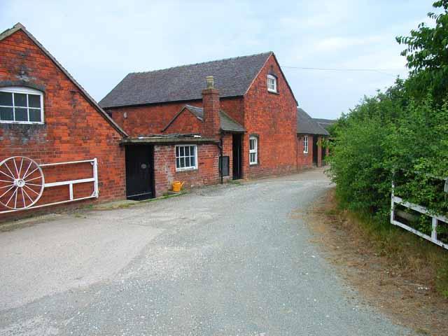 Farm on Thorney Lanes near Abbots Bromley