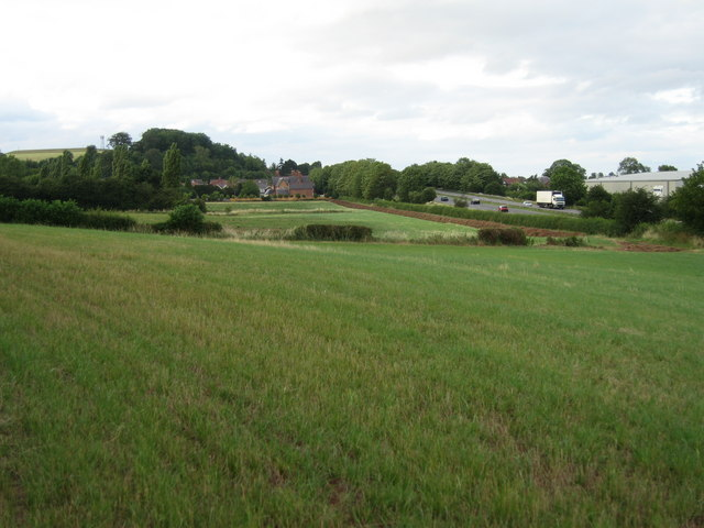 Farmland to the south of Forest Road, Shobnall, Burton upon Trent, Staffordshire.