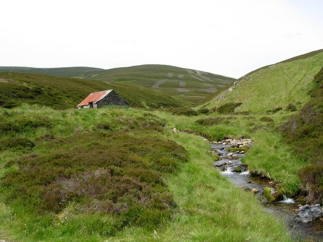 Gamekeeper's hut, Ladder Hills