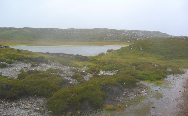 Lough Gowlansgower in the north east of Inishbofin