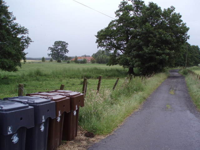 Entrance to Garshell Farm