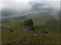 NN6240 : Pinnacle on Beinn Ghlas by Andrew Smith