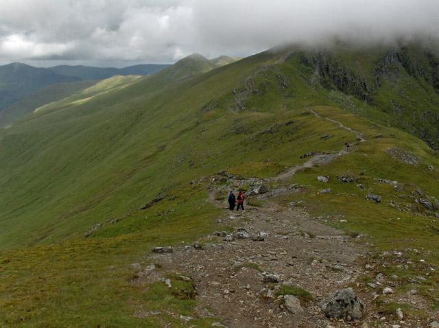 Beinn Ghlas to Ben Lawers ridge