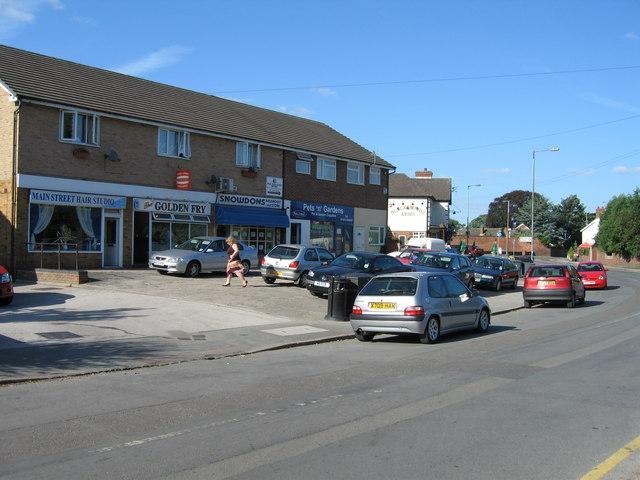 Main Street, Branston, Burton upon Trent, Staffordshire.