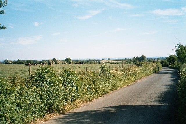 Lane near Buttermilk Farm