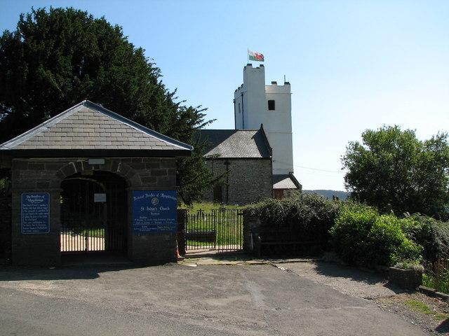 St Tudor's church Mynyddislwyn