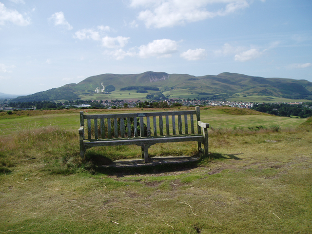 The Pentland Hills from the Braid Hills