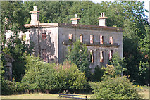 ST5295 : The Ruin of Piercefield House, Chepstow by Roy Parkhouse