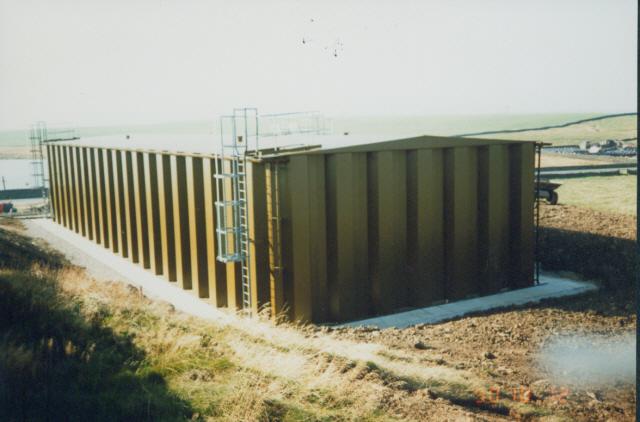 Krumlin service reservoir