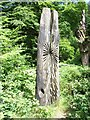 SD3393 : Grizedale Forest sculpture by Oliver Dixon