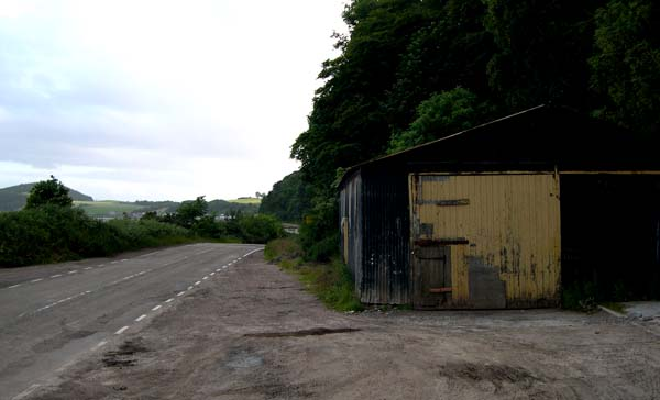 Roads department shed