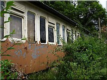 SX4368 : Recycled railway carriage, Lower Kelly, Calstock by Penny Mayes