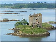 NM9247 : Castle Stalker by Norrie Adamson