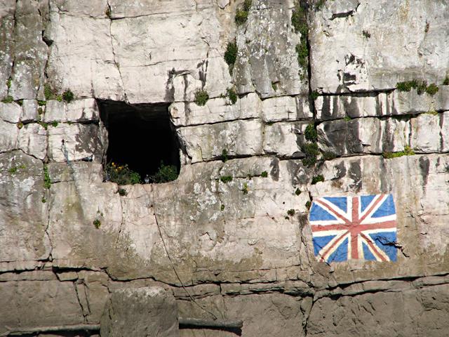 Chepstow - Gloucester Hole and Union Jack