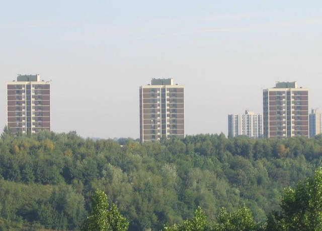 Prominent Tower Blocks In Walker