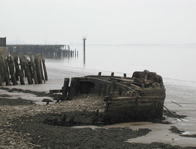 TA1128 : Fog on the River Humber by Paul Glazzard