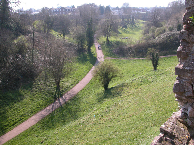 Chepstow - The Dell from the Castle