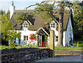SJ5561 : Thatched cottage, Tarporley by Alan Godfree