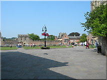 ST5545 : Cathedral Green, Wells by Danny P Robinson