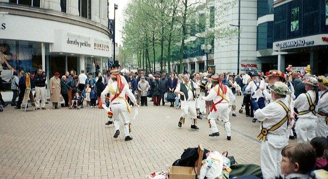 Morris Dancers - Croydon North End