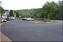 SH7357 : Bryn Glo Car Park near Capel Curig by Terry Hughes