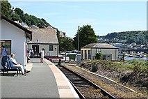 SX2553 : Looe Railway Station by Tony Atkin